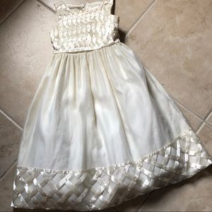 Girls Ivory Cinderella Flower girl Dress